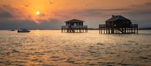 Fishermen Houses In Bassin Arc...