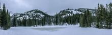 Winter In Rocky Mountain Natio...