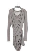 Asymmetric Grey Blouse
