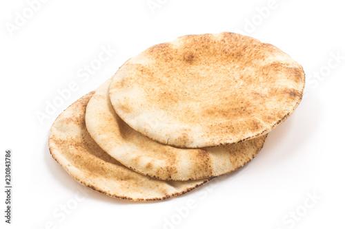 Poster Bread Flatbreads. Arab Bread