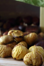 Roasted Delicious Chestnuts - Autumn Time