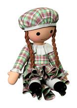 3D Rendering Doll Girl On White