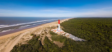 Aerial View Of Lighthouse La C...
