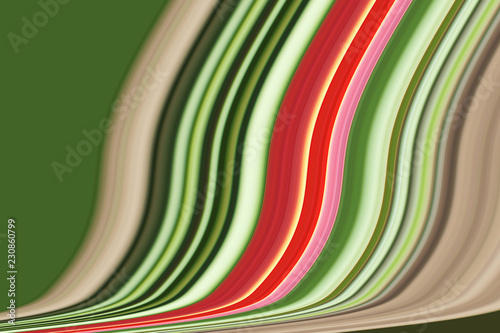 Keuken foto achterwand Abstract wave Color illustration. background