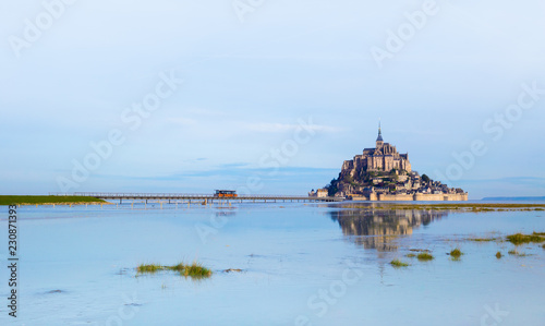 Mont-Saint-Michel in morning light