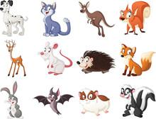 PrintGroup Of Cartoon Animals....