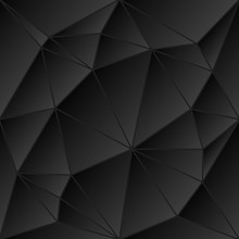 Abstract Vitrage - Triangular Dark Gray Scale Grid