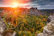 Amazing Autumn  Landscape In S...