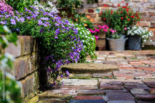 Fotomural English Cottage Garden