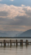 Smartphone HD wallpaper of beautiful alpine view at the famous Chiemsee