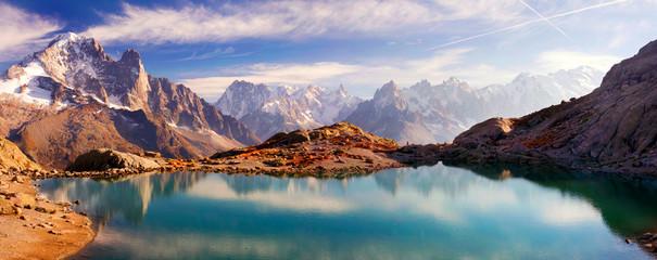 Kristalna jezera Chamonix u Alpama
