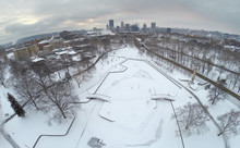 Allegheny Commons In The Snow