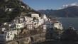 Aerial, Amalfi Coast town