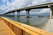 Bridge Crossing Over The River...