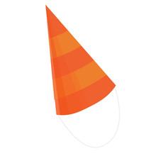 Birthday Conical Cap Icon. Car...