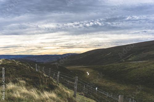 Scottish Valley Wallpaper Mural