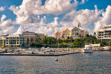 Along The Coast Of Bermuda's Capital, Hamilton