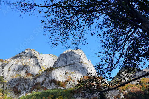 Photo  Autumn paint the mountains in Mello's valley