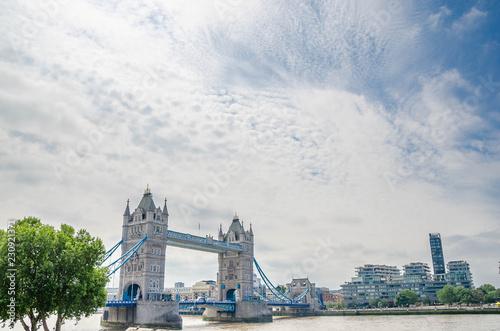 Keuken foto achterwand Bruggen Tower Bridge in London on a beautiful day,London,United Kingdom.
