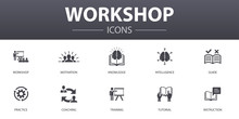 Workshop Simple Concept Icons ...