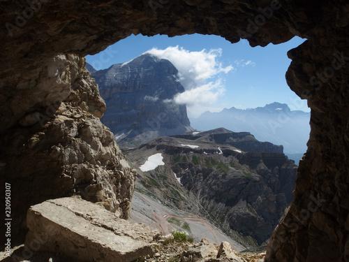 Fotografie, Obraz  Włochy, Dolomity - wokół Tofany di Rozes, widok z okolic schroniska Rifugio Laga