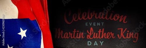 Fotografie, Obraz  Composite image of join the celebration event martin luther king