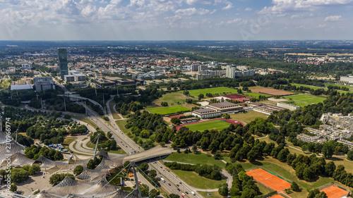 Foto op Aluminium Beautiful view near Munich-Bavaria-Germany