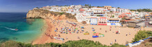 Beach Life In Carvoeiro At The...
