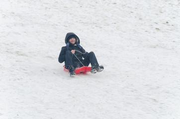 Fototapeta na wymiar Snow And Winter Scenary