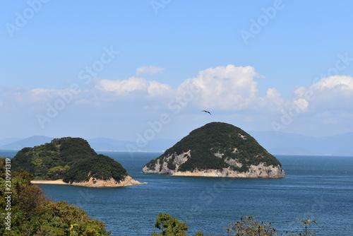 Keuken foto achterwand Eiland 島