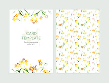 Lovely Spring Card Templates. ...