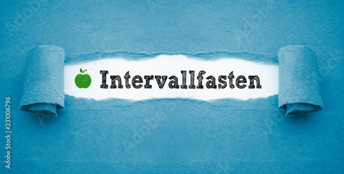 Intervallfasten Diät Wallpaper Mural