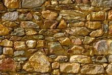 Natural Stone Wall, Shishtavec, Gora Region, Quk Kukes, Albania, Europe