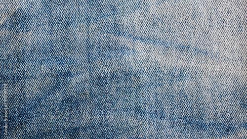 Fotografie, Tablou old blue denim jean texture