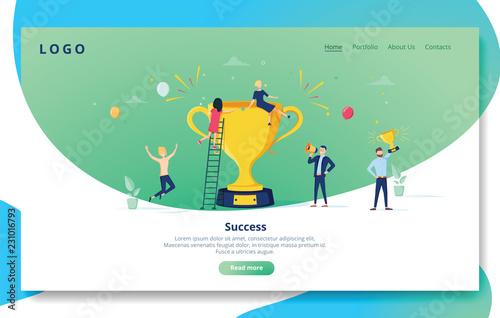 Foto Website Development Landing Page Template