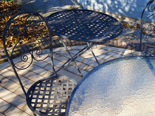 Classical Design Iron Metal Garden Furniture