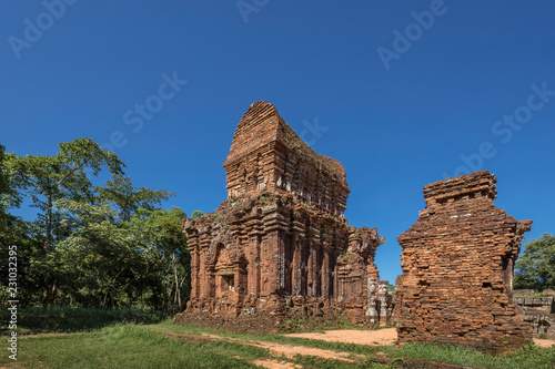 """Fotografie, Obraz  High quality photographs of intact towers at """"My Son Sanctuary"""", near Hoi An anc"""