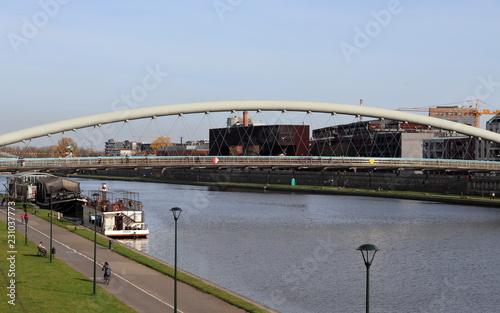Fototapeta Bridge in Krakow, Ojca Bernatka obraz