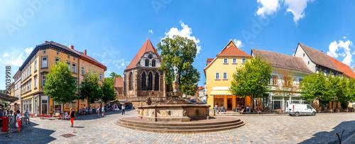 Keuken foto achterwand Europa Johann Sebastian Bach Kirche, Arnstadt