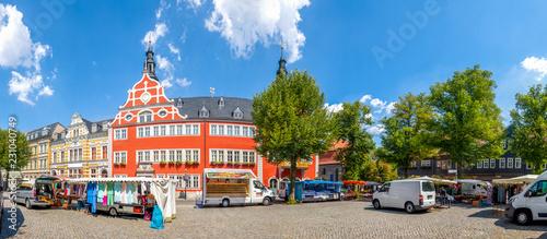 Wall Murals Bridges Arnstadt, Marktplatz