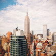 New York cityscape with Empire state building
