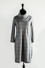 Grey Long Sleeved Winter Dress