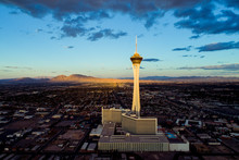 The Stratosphere Hotel In Las Vegas, Nevada