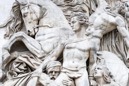 In de dag Centraal Europa Skulptur