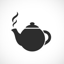 East Round Tea Pot Icon