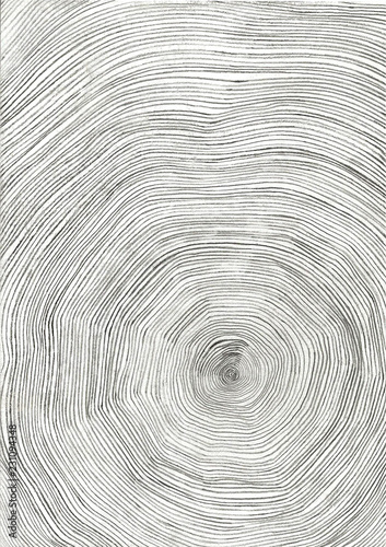 Circular Tree Ring Design Buy This Stock Illustration And