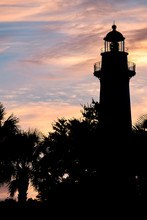 Silhouette Of The Lighthouse, ...