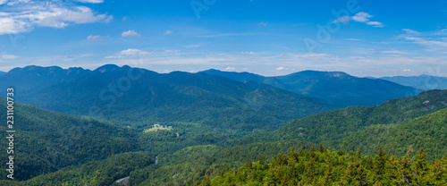 View at Adirondack High Peaks Wallpaper Mural