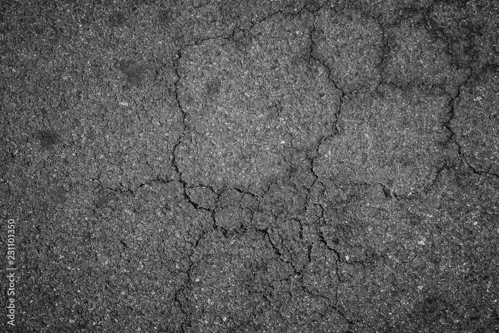 Fototapeta Crack asphalt texture background