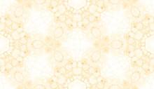 Yellow Seamless Pattern. Amusi...